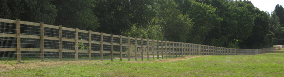 Post And Rail Essex Field Fencingessex Field Fencing