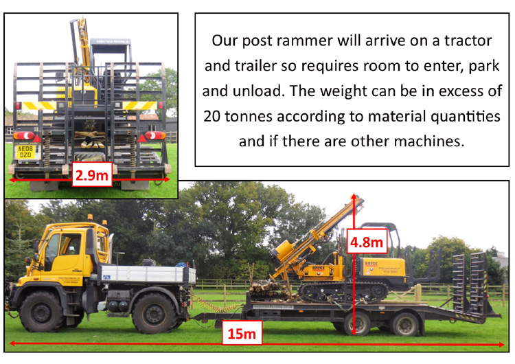 hire tracked post rammer