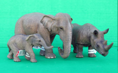 schleich-elephants